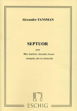 Septuor - Conducteur Alexandre Tansman Partition laflutedepan