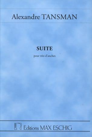Suite pour trio d'anches - Conducteur - laflutedepan.com