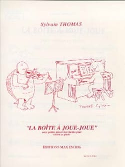 Sylvain Thomas - The Joue-Joue Box - Sheet Music - di-arezzo.com