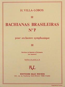 Bachianas brasileiras n° 7 – Conducteur - laflutedepan.com