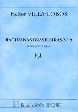 Bachianas brasileiras n° 9 - Conducteur laflutedepan