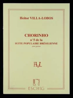 Chorinho (: n° 5 de la Suite populaire brésilienne) - laflutedepan.com
