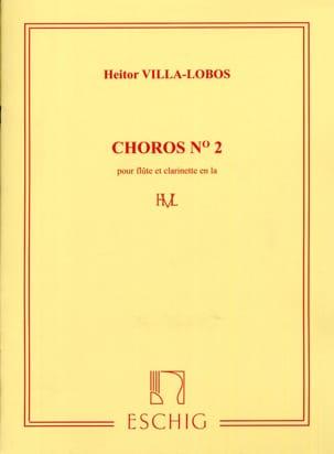 Choros n° 2 VILLA-LOBOS Partition Duos - laflutedepan