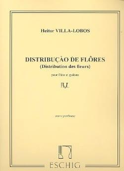 Heitor Villa-Lobos - Distribuicao de Flores - Flute and guitar - Sheet Music - di-arezzo.com