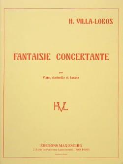 Fantaisie concertante - Heitor Villa-Lobos - laflutedepan.com