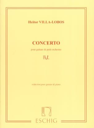 Concerto pour guitare et petit orch. –guitare piano - laflutedepan.com