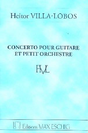 Concerto pour guitare et petit orch. - Conducteur laflutedepan