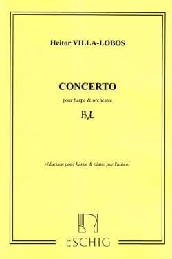 Concerto pour harpe - Heitor Villa-Lobos - laflutedepan.com