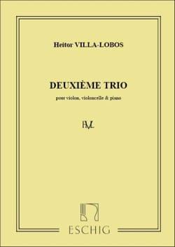 Trio n° 2 -piano, violon, violoncelle VILLA-LOBOS laflutedepan