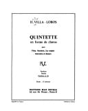 Heitor Villa-Lobos - Chôros quintet - Parts - Sheet Music - di-arezzo.co.uk