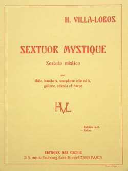 Heitor Villa-Lobos - Mystical Sextor - Parts - Sheet Music - di-arezzo.com