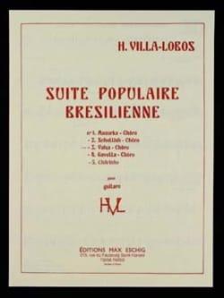 Heitor Villa-Lobos - Valse - Chôro : n° 3 de la Suite populaire brésilienne - Partition - di-arezzo.fr