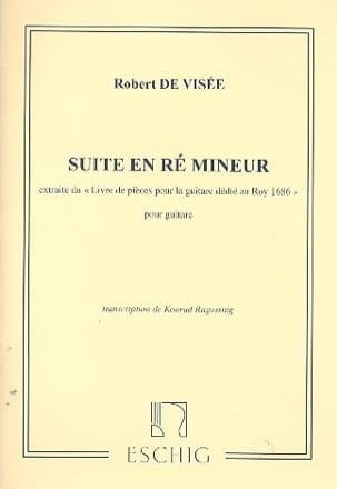 Suite en ré mineur pour guitare - Robert de Visée - laflutedepan.com