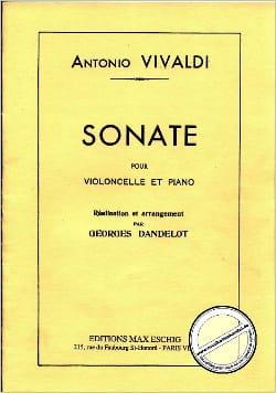 Sonate en mi mineur RV 40 - VIVALDI - Partition - laflutedepan.com