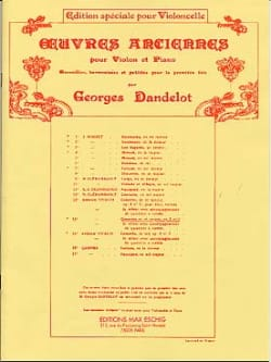 Concerto en ré Majeur, op. 3 n° 9 - Violoncelle VIVALDI laflutedepan