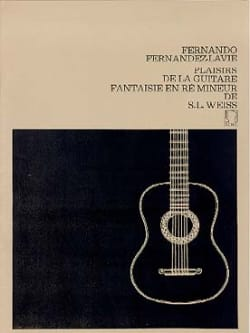 Silvius Leopold Weiss - Fantasia in re minore - Partitura - di-arezzo.it