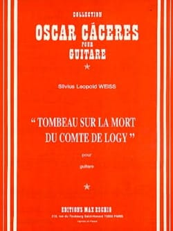 Silvius Leopold Weiss - Tomb on the death of the Count of Logy - Sheet Music - di-arezzo.co.uk