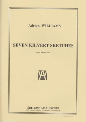 Seven Kilvert Sketches Adrian Williams Partition laflutedepan
