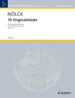 August Nölck - 10 Originalstücke op. 116 - Partition - di-arezzo.fr