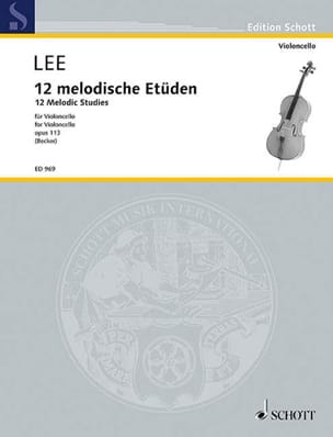 Sebastian Lee - 12 Melodische Etüden op. 113 - Sheet Music - di-arezzo.co.uk