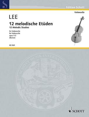 Sebastian Lee - 12 Melodische Etüden op. 113 - Partition - di-arezzo.fr