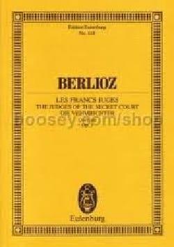 Hector Berlioz - Les Francs-Juges, Op. 3 - Ouverture - Partition - di-arezzo.fr