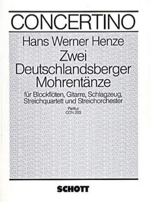 2 Deutschlandsberger Mohrentänze – Partitur - laflutedepan.com