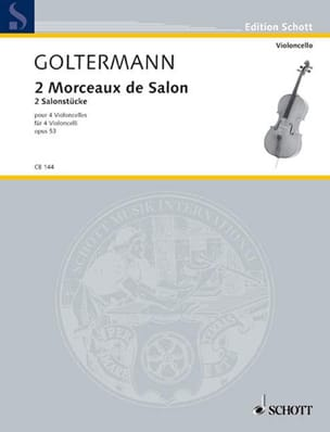 Georg Goltermann - 2 Pieces Of Living Room Op. 53 - Sheet Music - di-arezzo.co.uk