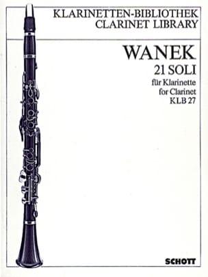 21 Soli -Klarinette solo - Friedrich K. Wanek - laflutedepan.com