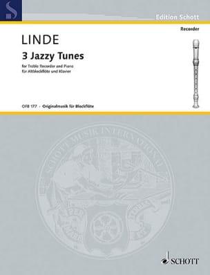 Hans-Martin Linde - 3 Jazzy Tunes - Altblockflöte Klavier - Sheet Music - di-arezzo.com