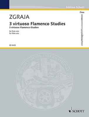 3 Virtuose Flamenco-Studien - Flöte solo Krzysztof Zgraja laflutedepan