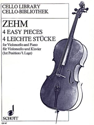 4 Easy pieces - Friedrich Zehm - Partition - laflutedepan.com