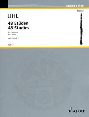 Alfred Uhl - 48 Etüden - Bd. 1 - Klarinette - Sheet Music - di-arezzo.co.uk