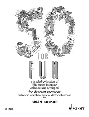 50 for Fun - Descand recorder Brian Bonsor Partition laflutedepan