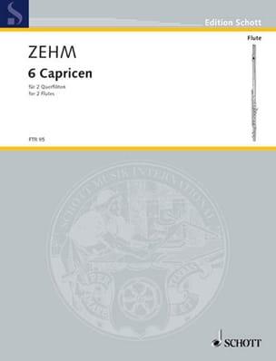 6 Caprices pour deux flûtes - Friedrich Zehm - laflutedepan.com