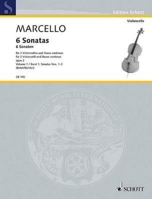 6 Sonaten op. 2 Heft 2 : Nr. 4-6 -2 Violoncellos u. Bc laflutedepan