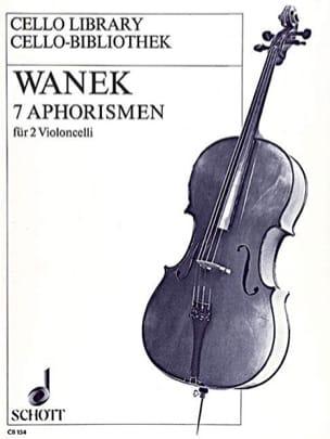 7 Aphorismen - Friedrich K. Wanek - Partition - laflutedepan.com