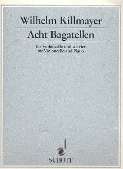 8 Bagatellen 1990/91 Wilhelm Killmayer Partition laflutedepan