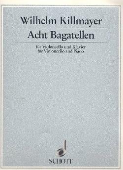 8 Bagatellen (1990/91) - Wilhelm Killmayer - laflutedepan.com