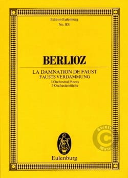 BERLIOZ - The Damnation of Faust 3 Pieces - Sheet Music - di-arezzo.co.uk