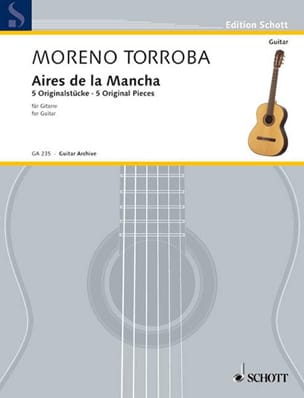Airs de la Mancha - Federico Moreno-Torroba - laflutedepan.com