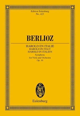 BERLIOZ - Harold En Italie Op. 16 - Partition - di-arezzo.fr