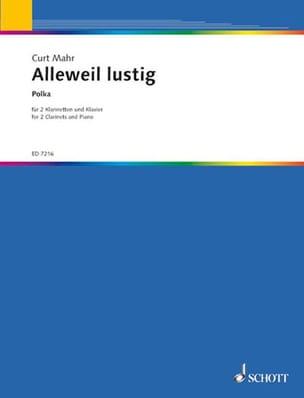Alleweil Lustig, Polka –2 Klarinetten Klavier - laflutedepan.com