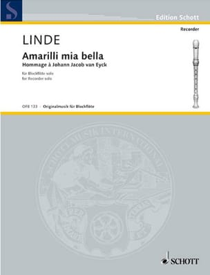 Amarilli mia bella - Hans-Martin Linde - Partition - laflutedepan.com