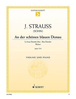 An der schönen blauen Donau - Violine laflutedepan