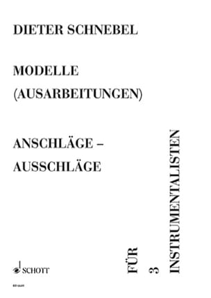 Anschläge - Ausschläge (Modelle Nr. 5) - laflutedepan.com