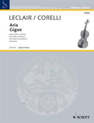 Leclair Jean-Marie / Corelli Arcangelo - Aria // Gigue - Sheet Music - di-arezzo.co.uk