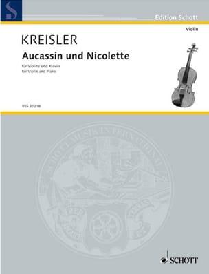 Fritz Kreisler - Aucassin et Nicolette - Partition - di-arezzo.fr