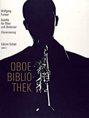 Aulodie 1966 - Oboe Klavier - Wolfgang Fortner - laflutedepan.com