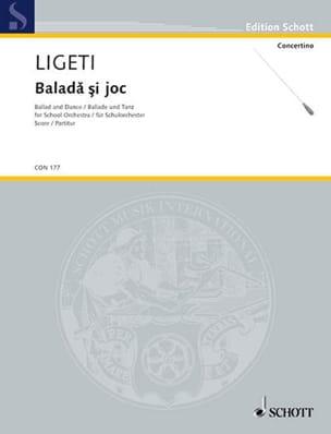 Ballade und Tanz - Partitur - György Ligeti - laflutedepan.com